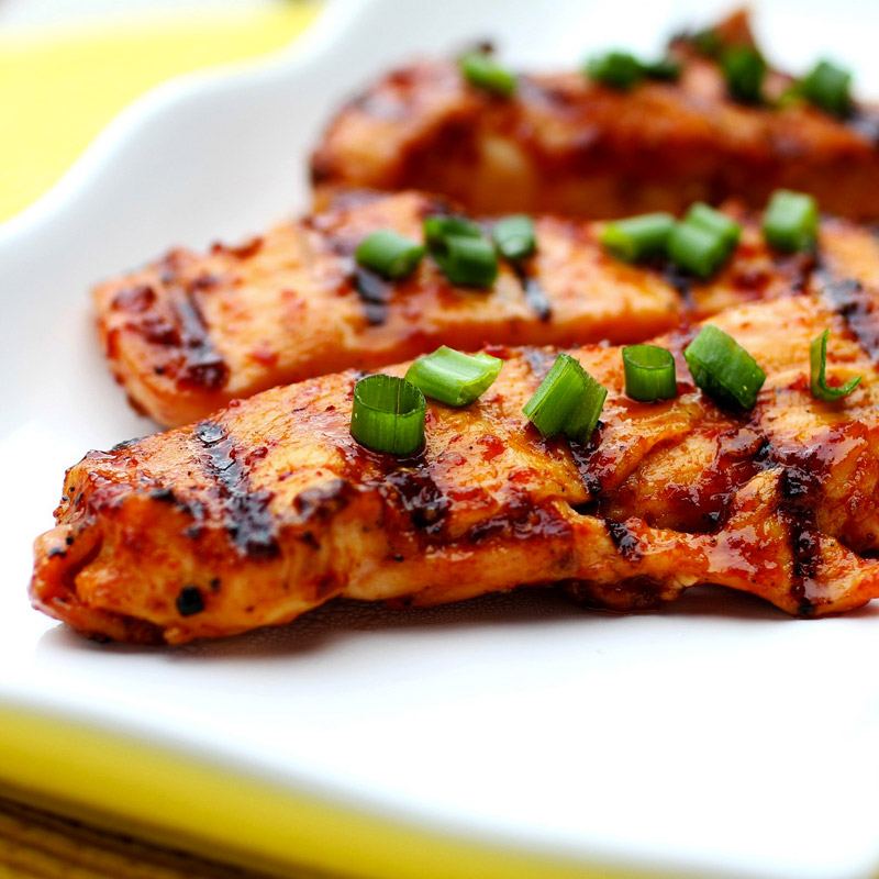 Sweet and Spicy Grilled Chicken Teriyaki