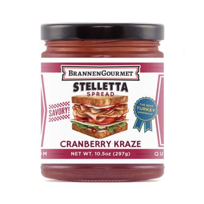 BrannenGourmet Cranberry Kraze Stelletta Spread