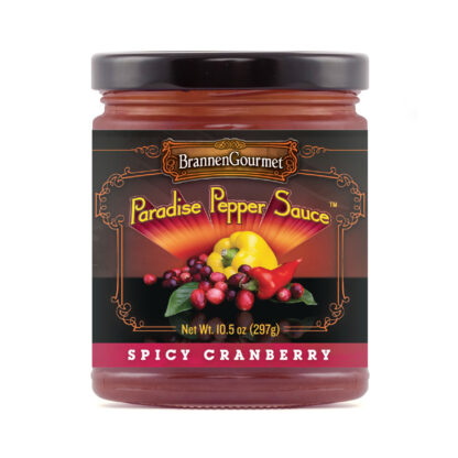 BrannenGourmet Spicy Cranberry Paradise Pepper Sauce - Redefining Pepper Jelly