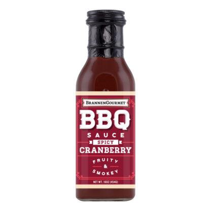 Brannen Gourmet Spicy Cranberry BBQ Sauce