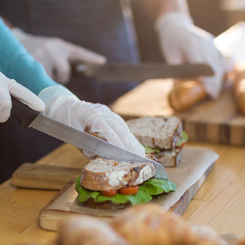 Cafe Restaurant Sandwich Spread